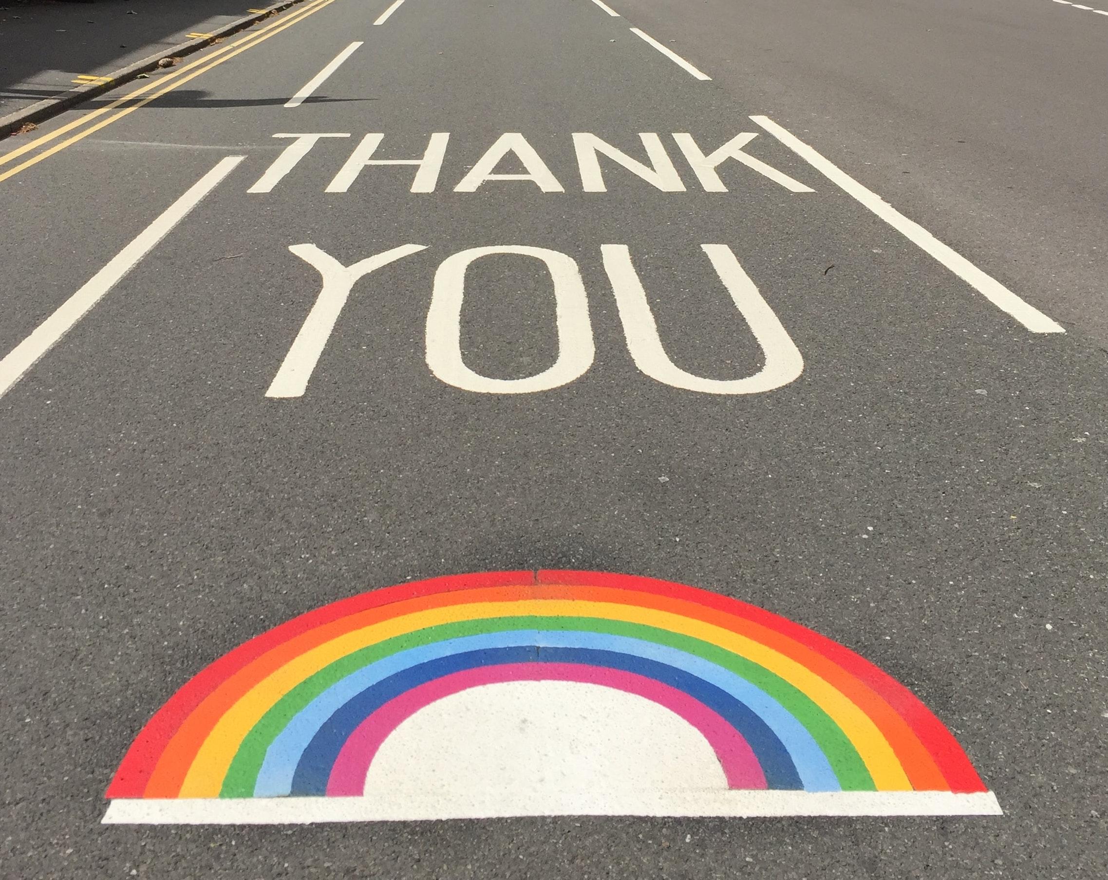 Thank you NHS 🌈